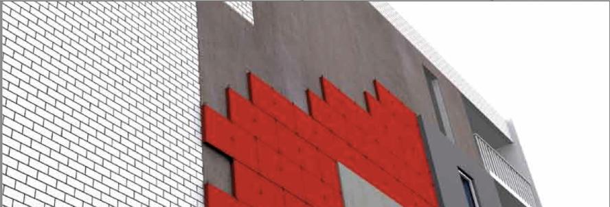 XPS para aislar térmicamente la fachada