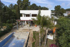 Vista de la vivienda aislada con XPS en Tarragona