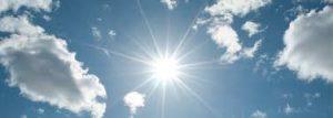 Sol en verano