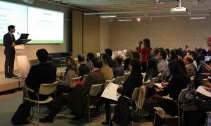 Ponencias y mesas de trabajo formaron parte de la dinámica del workshop (fuente. Construible.es)